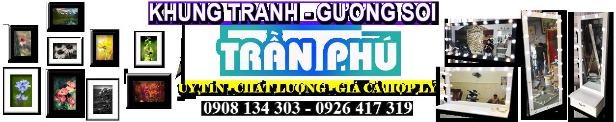 Khung Tranh Trần Phú Giá Rẻ