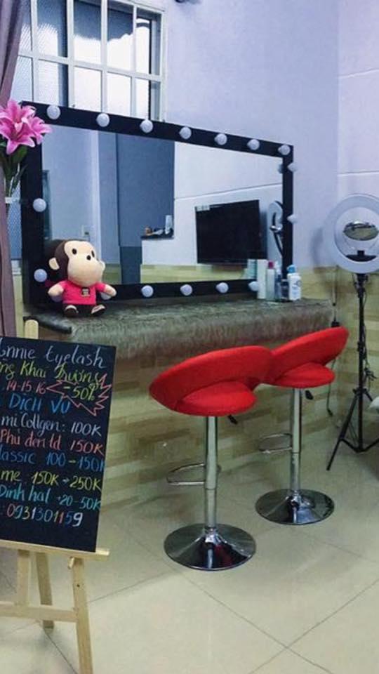 gương dung cho salon tóc